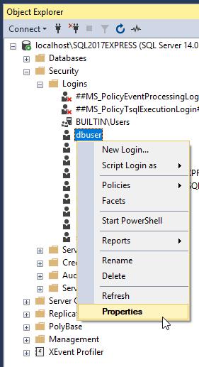 MDCStore™: Disable SQL Server complex password requirement