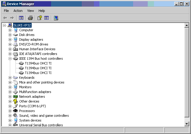 How to manage cameras with the Thesycon IEEE 1394 bus driver