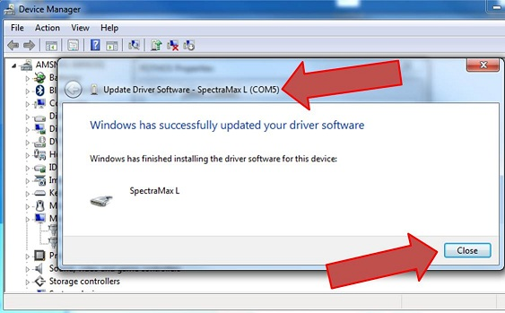 Installation of SoftMax® Pro on a Windows 7 computer and